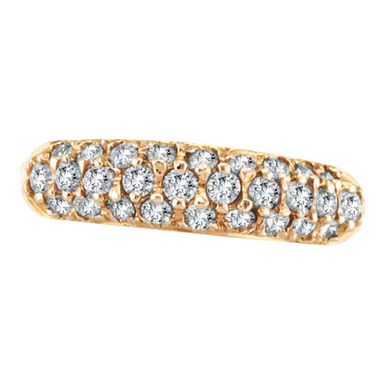 14K Rose Gold .81ct Diamond Fashion Ring. Price: $1316.16