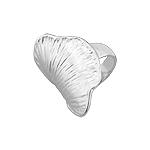 Sterling Silver Gingko Biloba Leaf Ring