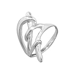 Sterling Silver Weaving Sprouts Ring