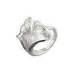 Sterling Silver Blooming Flower Ring