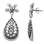Sterling Siver Pineapple Stud Earrings