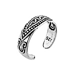 Sterling Silver Snake Toe Ring