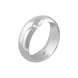 Sterling Silver 7mm Wedding Band