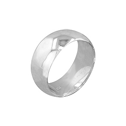 Sterling Silver 9mm Wedding Band