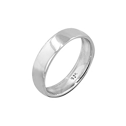 Sterling Silver 5mm Cigar Band