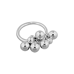 Sterling Silver Bunch of Balls Ring