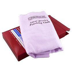 Connoisseurs Ultra Soft Sterling Silver Polishing Cloth