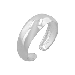 Sterling Silver 5mm Band Toe Ring