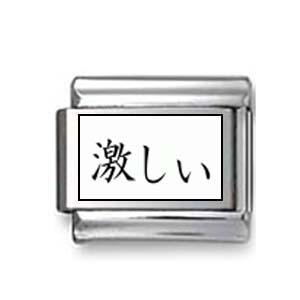 "Kanji Symbol ""Fierce"""