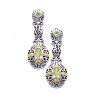 Alesandro Menegati 14K Accented Sterling Silver Multi Gemstones Earrings