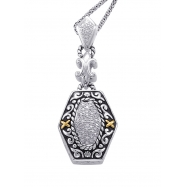 Alesandro Menegati 14K Accented Sterling Silver Necklace with Diamonds