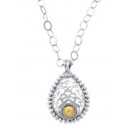 Alesandro Menegati 14K Gold & Sterling Silver Necklace