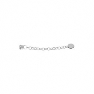 Sterling Silver 01.50 Inch Kera Bracelet And Necklace Extender