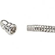 Sterling Silver 08.50 Inch Kera Snake Bracelet
