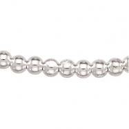 Sterling Silver 18 INCH Hollow Bead Chain