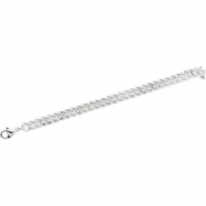 Sterling Silver 8 INCH Curb Chain