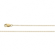 14K White 20 INCH LASERED GOLD ROPE CHAIN Lasered Titan Gold Rope Chain