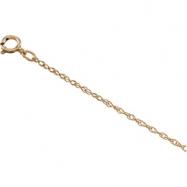 14K White 16 INCH;P;LASERED TITAN GOLD ROPE CHAIN Lasered Titan Gold Rope Chain