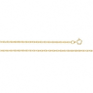 14K Yellow 24 INCH Lasered Titan Gold Rope Chain