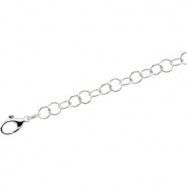 Sterling Silver 7 INCH Ring Chain