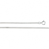 Sterling Silver 20 INCH Solid Diamond Cut Box Chain