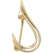 14K Yellow Gold Brooch