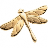 14K Yellow Gold The Dragonfly Brooch