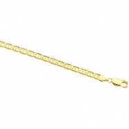 14K Yellow 8 INCH Anchor Chain