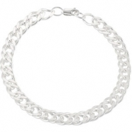 Sterling Silver 20.00 INCH CURB CHAIN Curb Chain