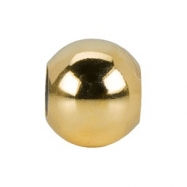 Yellow Gold Filled Kera Smart Bead Ring Size 6