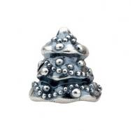 Sterling Silver Kera Christmas Tree Bead