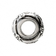 Sterling Silver Kera Floral Bead