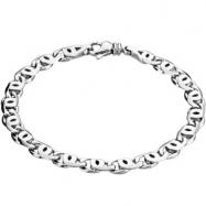 Platinum Gents Bracelet