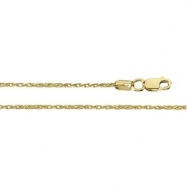14K Yellow 24.00 INCH WHEAT CHAIN Wheat Chain