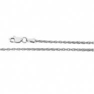 Sterling Silver 18.00 INCH WHEAT CHAIN Wheat Chain