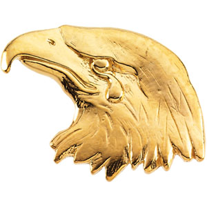 Sterling Silver Eagle Lapel Pin. Price: $46.00