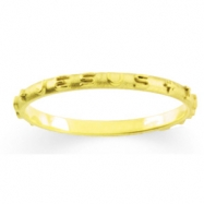 14K Yellow Gold Jesus I Trust In You Ring