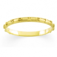 14K White Gold Come Holy Spirit Ring