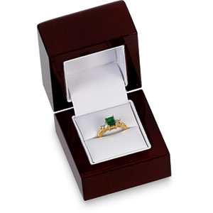 SINGLE Ring Wood Box. Price: $18.24