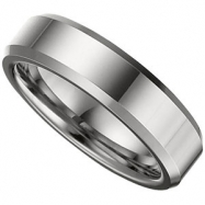 09.50 Dura Polished Beveled Band