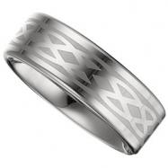 08.50 Flat Grey Laser Design Band