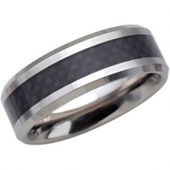 11.50 Dura Black Immerse Plate Polished Band