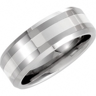 08.00 Dura Band With Sterling Silver Inlay