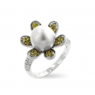 Ivy Pearl Ring