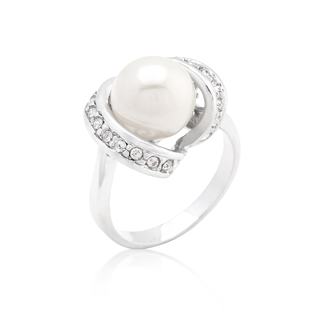 Single Pearl Cocktail Ring. Price: $13.75