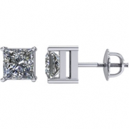 14kt White 1/2 CTW Pair 1/2CTW Diamond Earrings