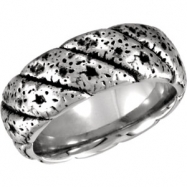 Cobalt 12.50 09.00 MM POLISHED CASTED BAND