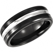 Cobalt 10.00 07.50 MM BLACK PVD CASTED BAND