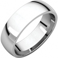 Continuum Sterling Silver 06.00 mm Light Comfort Fit Band
