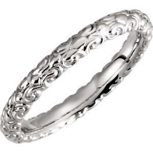 14kt White Band Mounting 06.00 NONE NO STONE NO STONE NONE Polished SCULPTURAL ETERNITY BAND RG MT. Price: $272.68